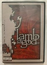 Lamb Of God - Terror And Hubris DVD PA 2003 Prosthetic Records Free Shipping