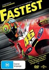 FASTEST narrated by Ewan McGregor DVD NEW