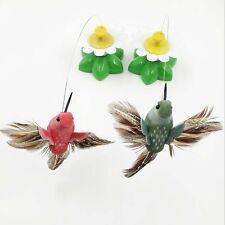 Elektrischen Vogel Katze Spielangel mit Teaser Spielzeug Angel Zufällig Farben
