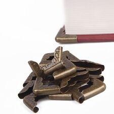 Book Notebook Collar Folders Scrapbooking Corner Protectors Antique Bronze