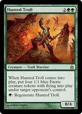 MTG Magic RAV FOIL - Hunted Troll/Troll au rabais, English/VO