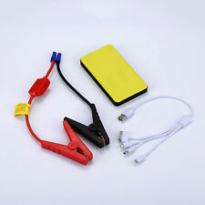12V Car Jump Starter Battery Power Pack Bank Charger USB Jumper Cables Charging