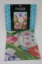 Easter Garden Flag Easter Decorations Easter Bunny In Flowers 12 x 18