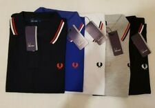 Fred Perry 100% Cotton Collared Mens Polo Shirt