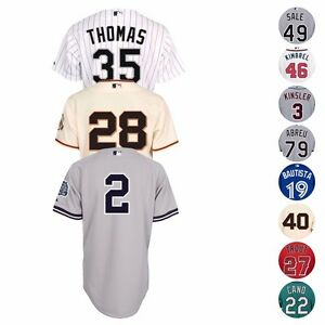 MLB Official Majestic Authentic On-Field Team Player Home Away Alt Men's Jersey