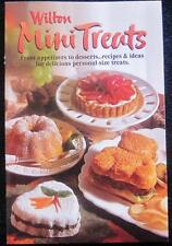 Mini Treats Book for Singles Pans & other small treats. Wilton #4100 New