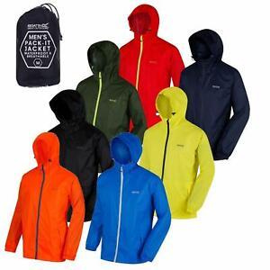 Regatta Mens Pack-it In a bag Packable Waterproof Jacket Outdoor Pack a mac