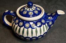 Polish Pottery Ceramika Artystyczna Teapot
