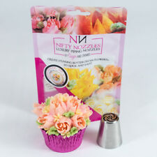 Nifty Nozzles - L - 105 - Night Jasmine - Genuine Russian Piping Tip - 1 Nozzle