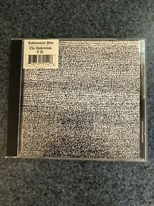 Rare Rudimentary Peni CD The Underclass EP Import booboo7 2000 Outer Himalayan
