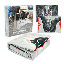 NEW Jay Franco Marvel Black Panther Twin Sheet Set - 3pc