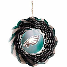 w1 NFLPhiladelphia Eagle Geo Spectrum Wind Spinner Wind Driven Stainless Steel