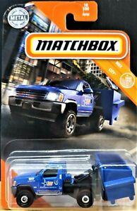 Matchbox 2020 MBX Garbage Scout Blue #10 MBX City New Long Card