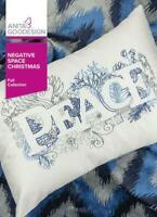 Negative Space Christmas Anita Goodesign Embroidery Design Machine CD