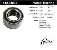 Wheel Bearing-Premium Bearings Front Centric 412.63002