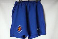 Vintage Pantalones cortos de fútbol del Manchester United tercera 08-09 jóvenes Nike Raro