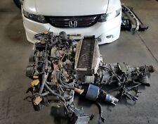 JDm Subaru STi GC8 EJ20 Turbo Engine 5spd Manual Trans Wire ECU EJ20G EJ20T 2.0L