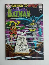 Batman #202 FN - 1967.