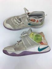 Nike Boys White Multicolor Athletic Kyrie 2 Athletic Sneakers Sz 5Y