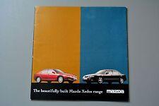 Brochure  Mazda Xedos 6 1.6 2.0 2.5 V6,