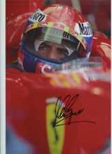 Marc Gene Ferrari F1 Test Driver Retrato Firmado fotografía 3