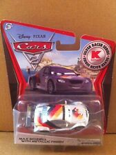 "DISNEY CARS DIECAST - ""Max Schnell With Metallic Finish"" -Combined Postage"
