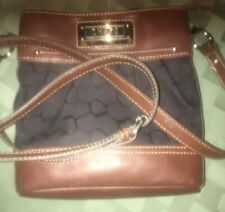 Chaps Ladies Pocket Book Brown Adjustable Strap