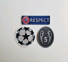 UEFA Champions League patch kit- FC Barcelona, Bayern Munich - Liverpool