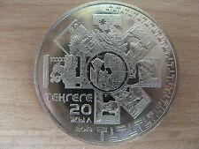 KAZAKHSTAN 2013 20 years of currency 50 Tenge CuNi UNC #S10.
