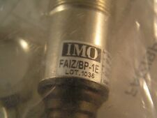 IMO FAIZ/BP-1E Photoelectric Switch NO+NC PNP M18 20m 10-30vdc MBH013g