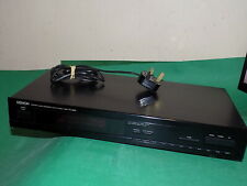 More details for denon fm/am stereo hifi tuner vintage silver black tu-260l made in germany