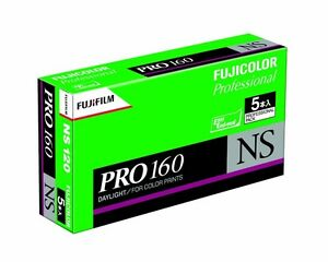 5 x Fujifilm Fuji PRO160 NS Color Negative 120 Film Japan import With Tracking