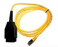 Enet Interfaz de Cable Codificación Rj45 Ethernet OBD Programación Diagnóstico