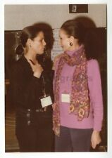 Jacqueline de Ribes & Ali MacGraw - Original Vintage Photo by Peter Warrack