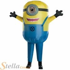 Kids Inflatable Minion Stewart Costume Despicable Me Fancy Dress Boys Girls