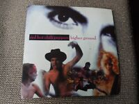 "Red Hot Chili Peppers Higher Ground RARE 7"" Single"
