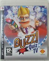 Buzz Quiz TV (Sony PlayStation 3, 2008) - European Version