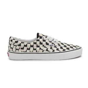 New Vans Era UV Ink Checkerboard/True White Sneakers Skate Shoes 2021