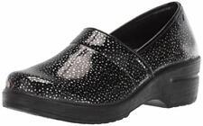 Easy Works Women's LYNDEE Health Care Professional Shoe, BLK RAIN DRPS, 6.5 2W U