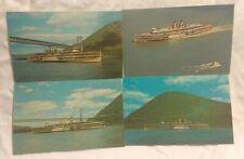 Ship Lot 4 Alexander Hamilton Postcards Hudson River Day Line Bear Mountain NY