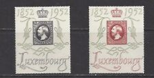 LUXEMBOURG - 278-279 - MVLH - 1952 - CENTENNIAL OF LUXEMBOURG STAMPS