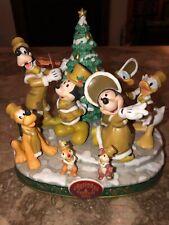 TOKYO DISNEYLAND 2001 VICTORIAN CHRISTMAS FANTASY MICKEY MINNIE GOOFY FIGURE