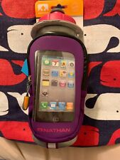 NEW Nathan Quickview Running Hiking 22 Oz Water Bottle Flask Phone Holder