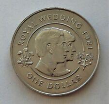 "1981 Bermuda ""Charles & Diana Wedding"" One Dollar Coin"