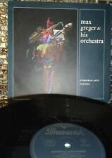 Max Greger & Orch.~'European Jazz Sounds' OG Brunswick 63 (Ger) NM Benny Bailey
