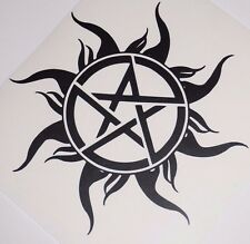 Wall Sticker custom Vinyl indoor decal window laptop removable Pagan Pentagram