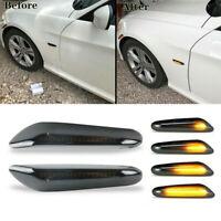 Turn Signal Light Sequential LED Side Marker Blinker For BMW E90 E88 E87 E82 E60