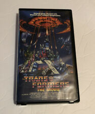 Transformers: The Movie (VHS, 1999, Clamshell)