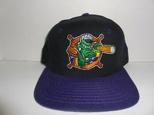 VTG NORWICH NAVIGATORS Minor League Snap Back Hat Baseball NWOT