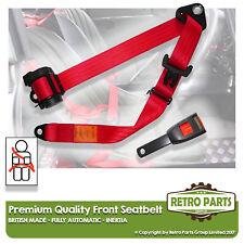 Front automatique ceinture pour Peugeot 206 5dr hayon à partir de 1998 rouge